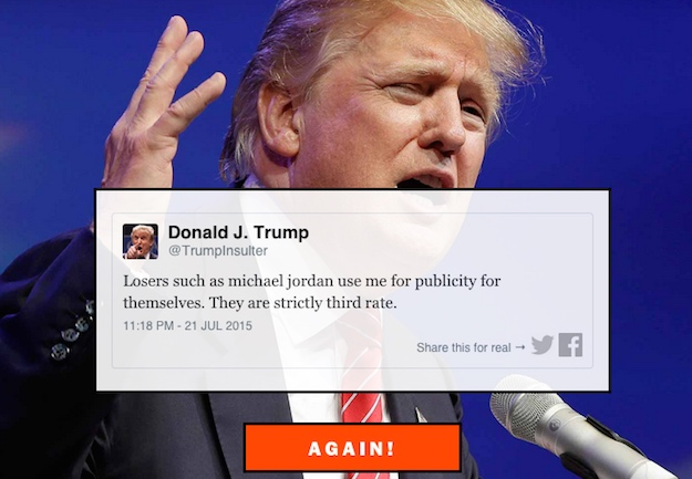 Donald Trump Insult Generator