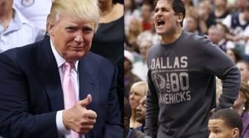 Donald Trump Mark Cuban