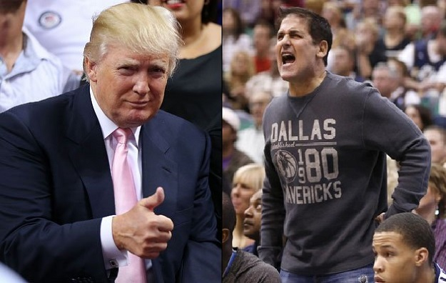 Donald Trump Mark Cuban