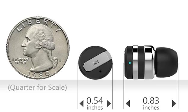 iPhone Android Dot Bluetooth Headset Kickstarter