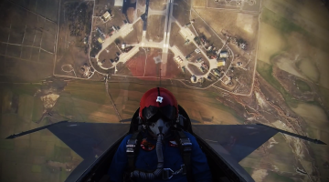 F-16 Fighter Jet Takeoff Video