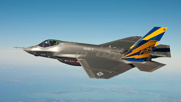 F-35 25mm Cannon Live Fire Video
