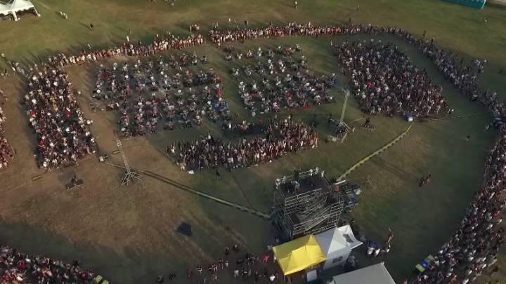 Foo Fighters Learn to Fly 1,000 Rockers Video