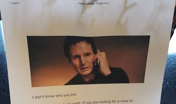 Funny Threat Notes Teens Taken Internet