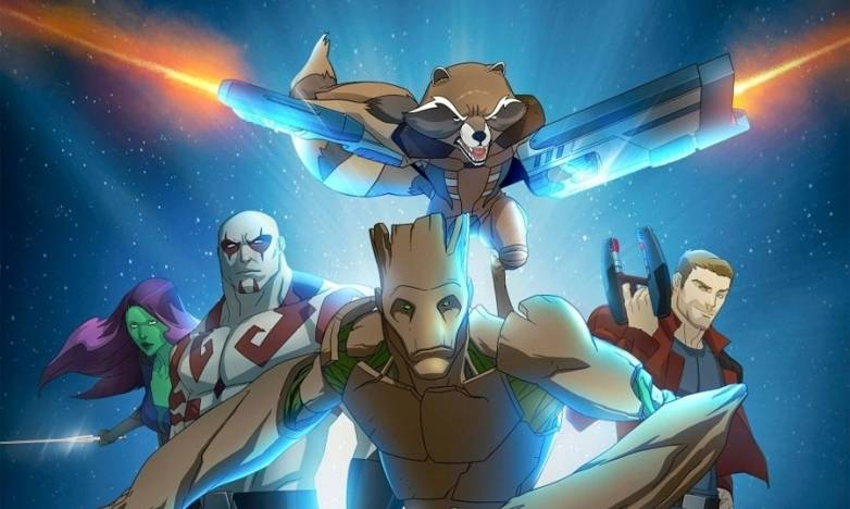 Guardians of the Galaxy Animated Series Trailer
