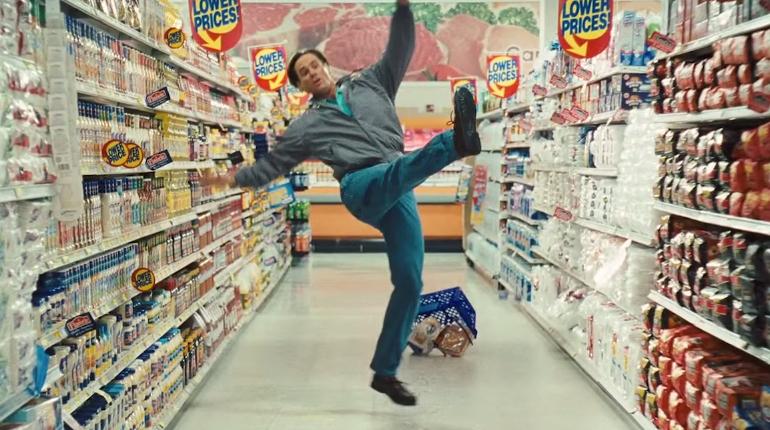 Jim Carrey Falling Down Video