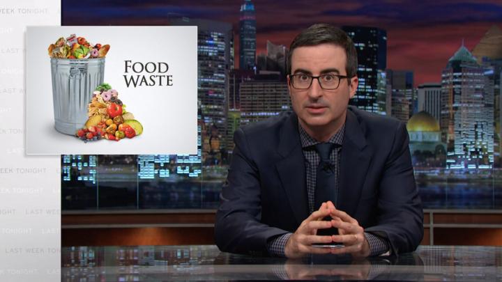 John Oliver Food Waste Video