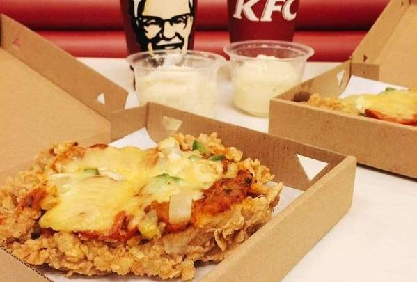 KFC KFChizza Fried Chicken Pizza