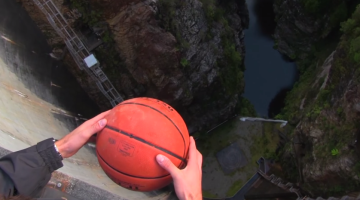 Magnus Effect Basketball Video