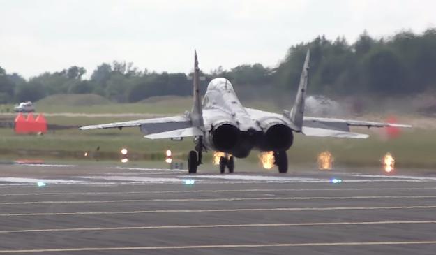 Fighter Jet Vertical Take Off