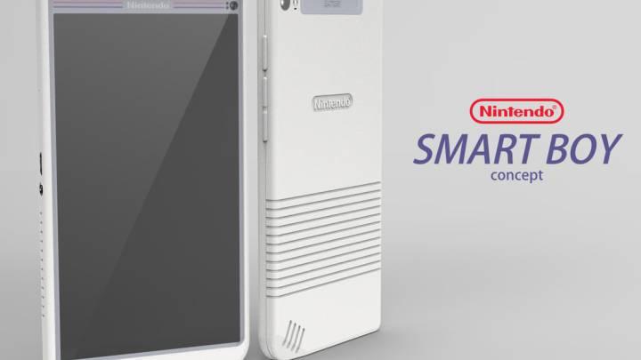 Nintendo Smart Boy Android Phone Concept