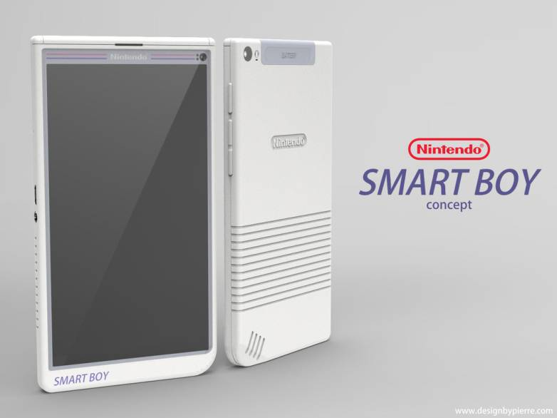 Nintendo Smart Boy Android Phone Concept