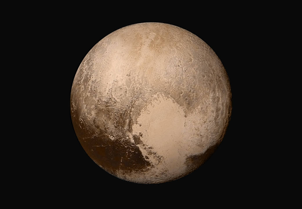 Pluto True Color Images NASA