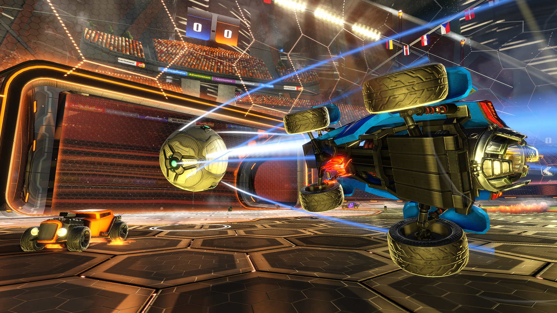 Rocket League screen cap
