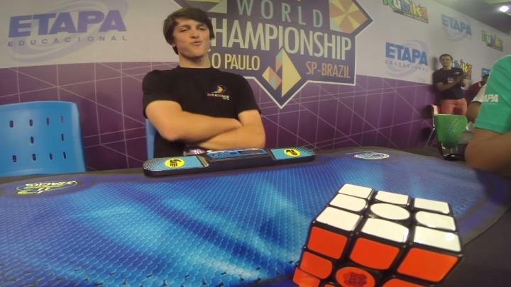 Rubik's Cube World Championship Winner