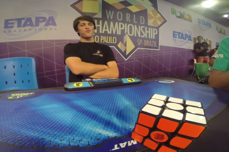 Rubik's Cube World Championship Winner