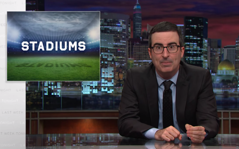 John Oliver Stadiums Taxpayer Funding
