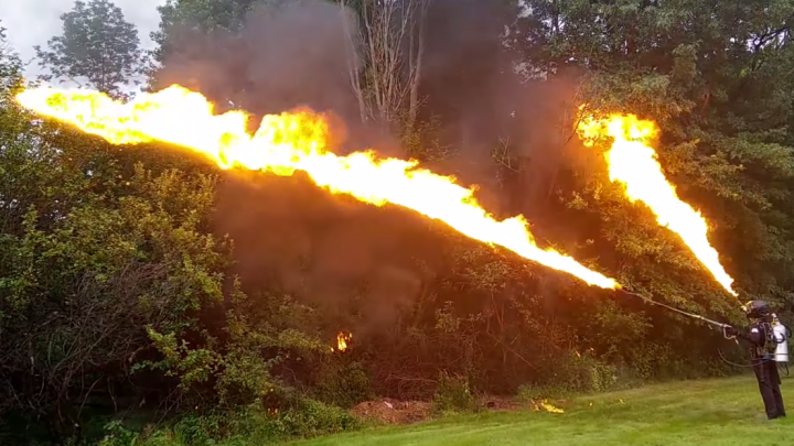 Flamethrowers For Sale XMatter Ion Productions