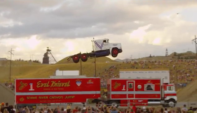 Semi Truck Jump World Record