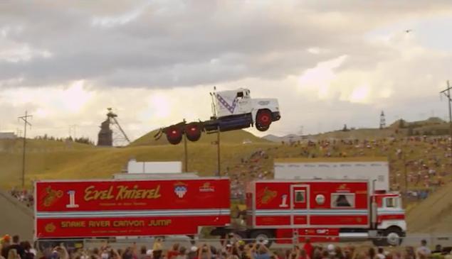 Semi Truck Jump World Record