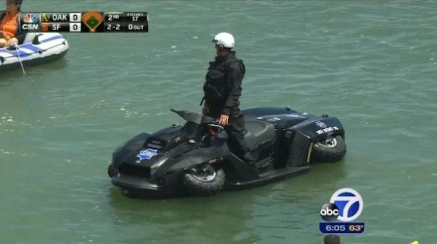 San Francisco Police Quadski Vehicle