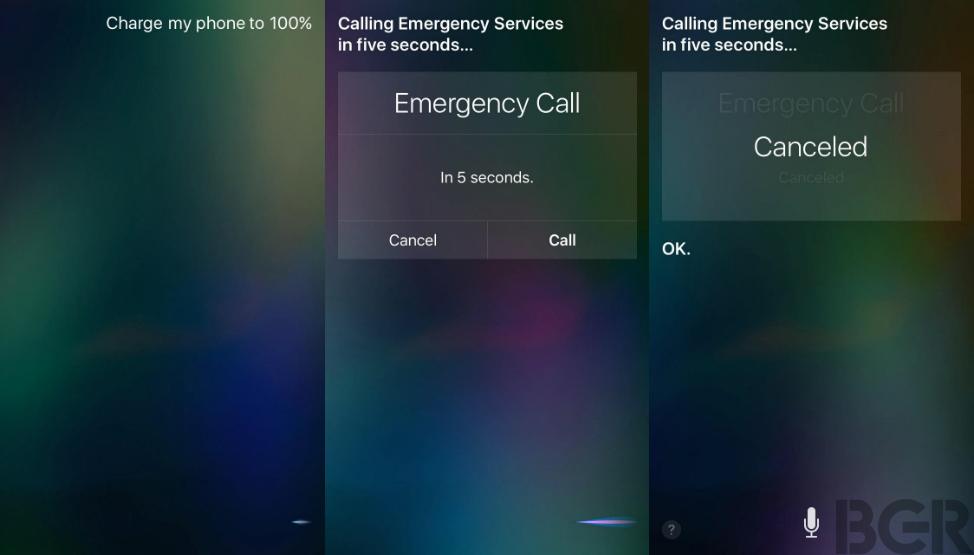 Siri Pocket Dial Life Saver