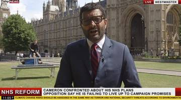 Sky News Prank