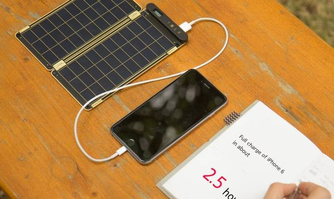 iPhone 6 Android Solar Charger Kickstarter