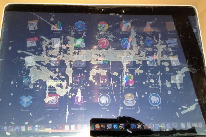 Apple MacBook Pro Staingate Free Fix
