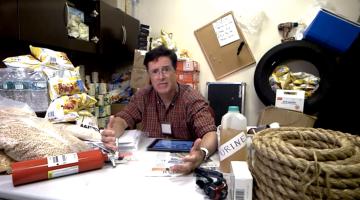Stephen Colbert NYSE Trading Halt