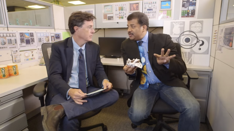 Stephen Colbert vs Neil deGrasse Tyson