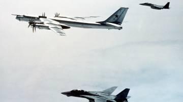 U.S. Fighter Jets Intercept Russian Bombers