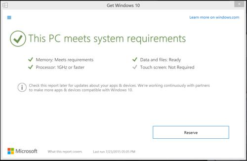 How to check to see if your PC can run Windows 10 – BGR