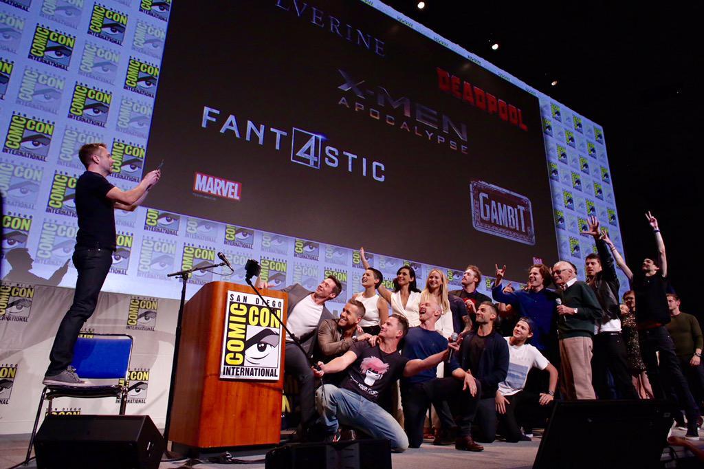 Fox Comic Con Panel: Deadpool, Fantastic Four & X-Men ...