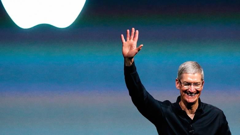 Tim Cook Apple Watch User Phone Call