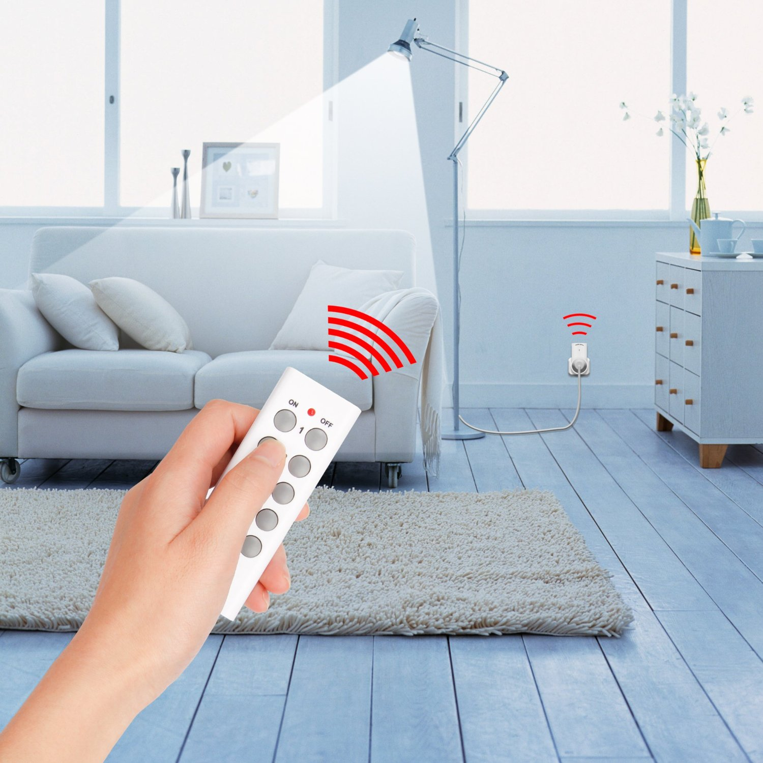 Wireless Remote Light Switch: Control any gadget in your house remotely with this affordable converter  kit – BGR,Lighting