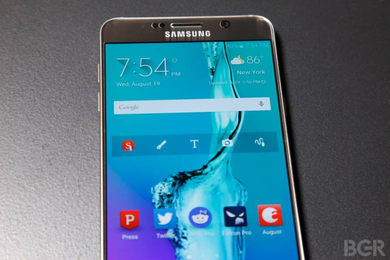 Galaxy Note 5 Vs. iPhone 6 Speed Test