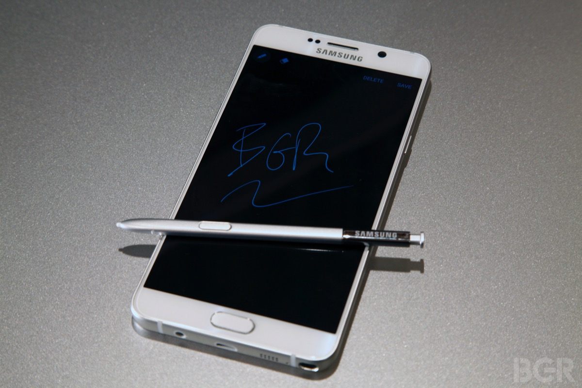 Galaxy Note 5 vs. iPhone 6s Plus Europe