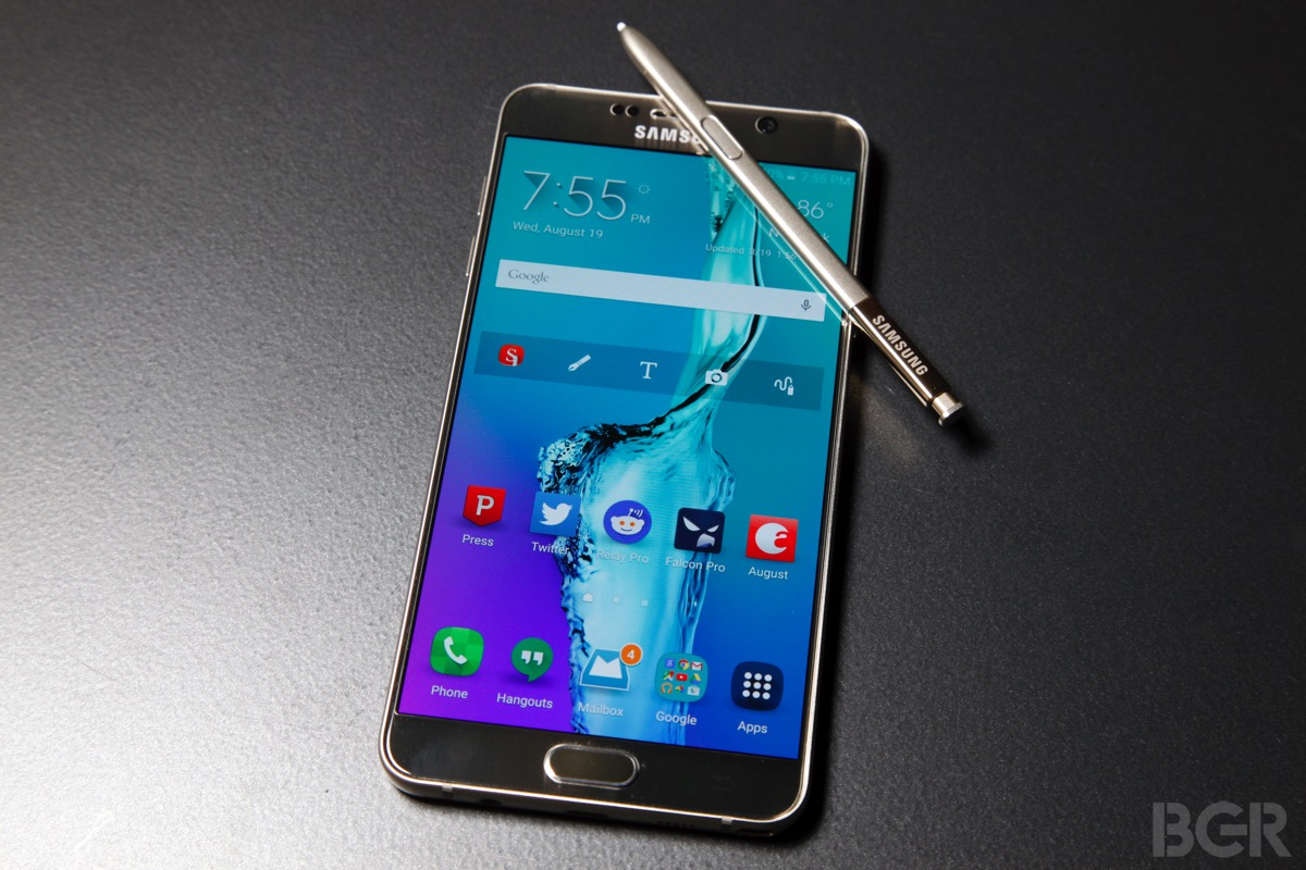 Samsung has started to turn the Galaxy Note 5 into the Note 7
