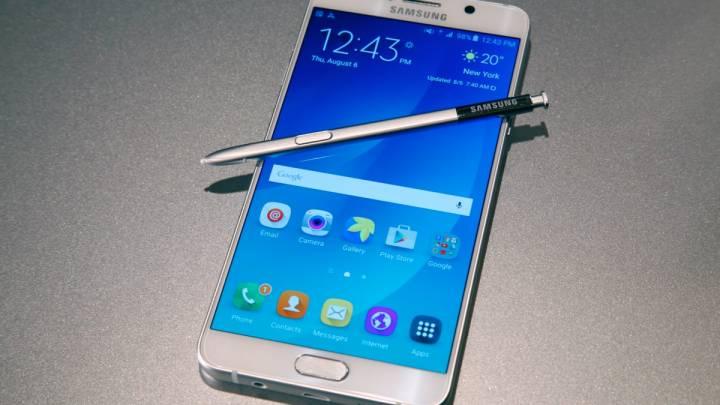Galaxy Note 5: 128GB microSD Support