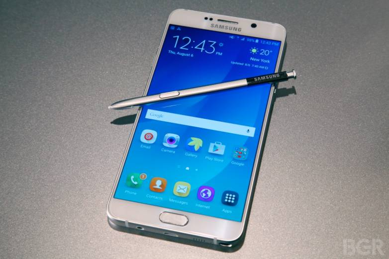 Samsung Galaxy Note 5 Battery Benchmark