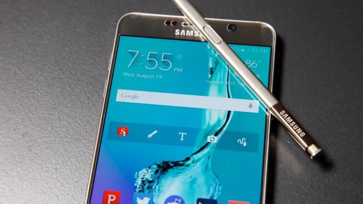 Galaxy Note 5 Design Flaw