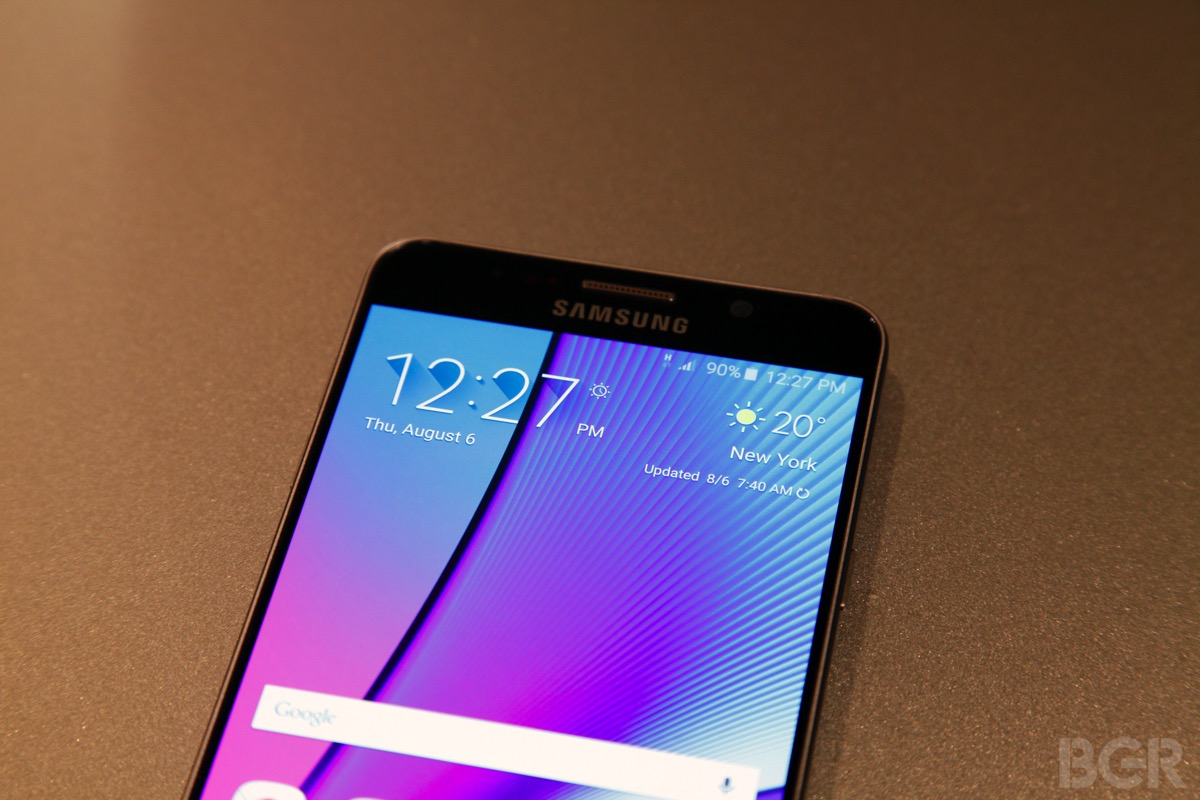 Galaxy Note 5 and Galaxy S6 Edge+ release date information ...