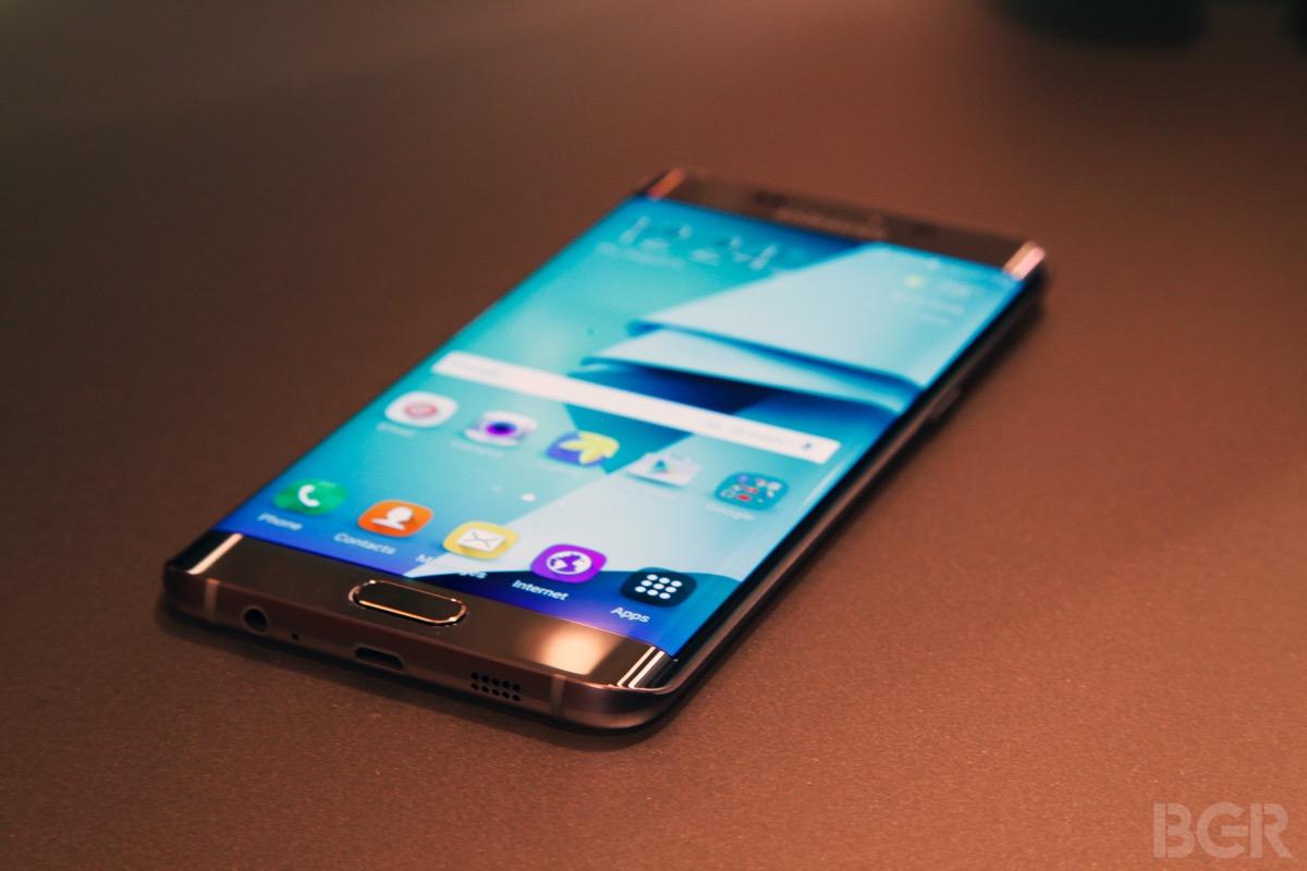 Galaxy S7 Edge Display Leaks
