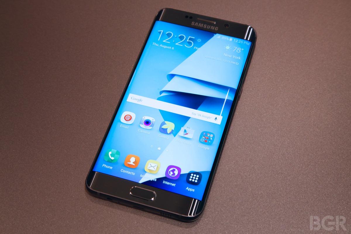 Galaxy S7 Display Leak