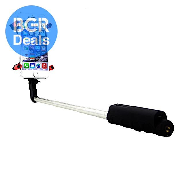 selfie stick with bluetooth gets a solid discount on amazon bgr. Black Bedroom Furniture Sets. Home Design Ideas