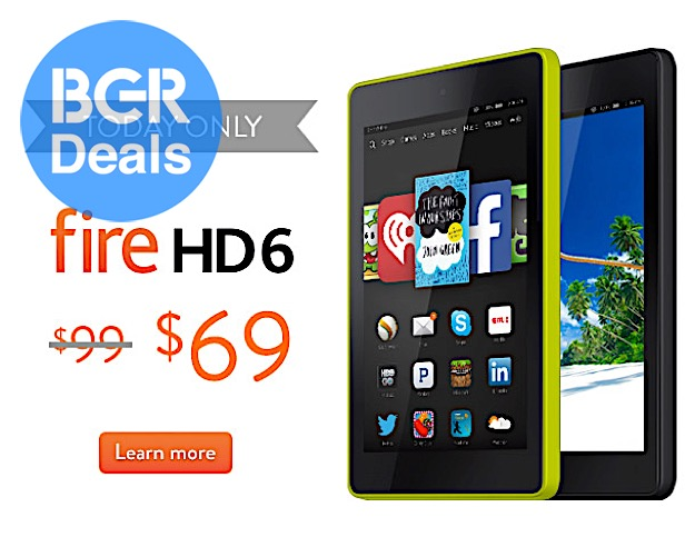 Kindle Fire HD Discount
