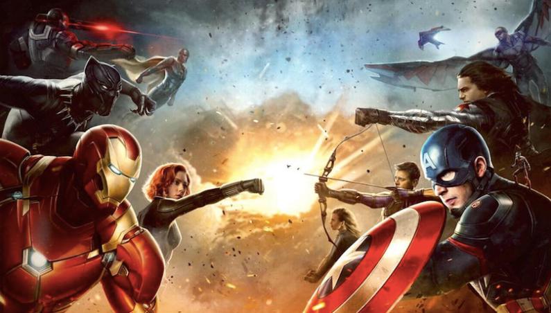 Avengers Infinity War Civil War