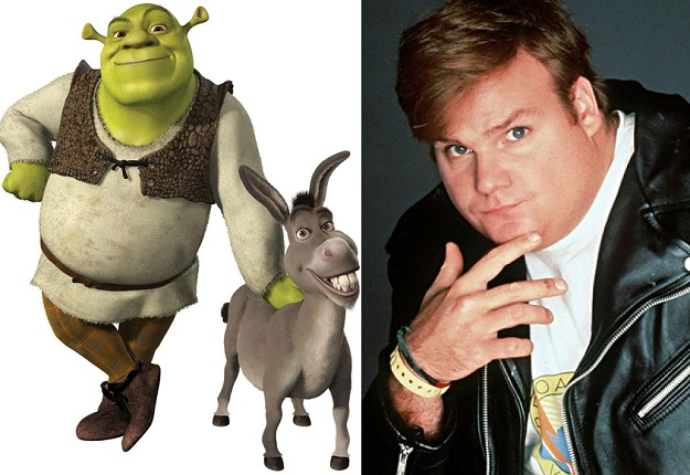 Chris Farley Shrek Voice Leaked Footage