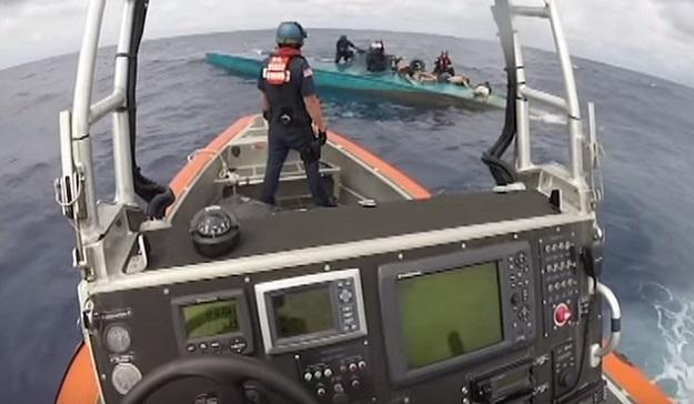 Coast Guard Drug Raid